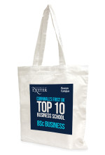 Exeter University Business School cotton bag