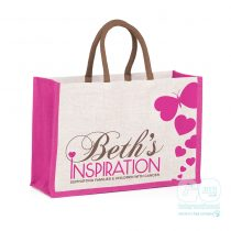 Beth's inspiration jute bags