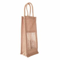 Wine Bottle Carrier Jute Bags