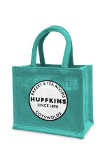 Huffkins mini jute bag