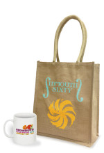Sidmouth Sixty promotional jute bag