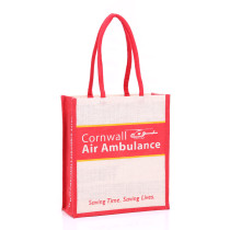 Cornwall Air Ambulance Jute Bag