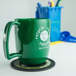 Promotional mugs and desktop products