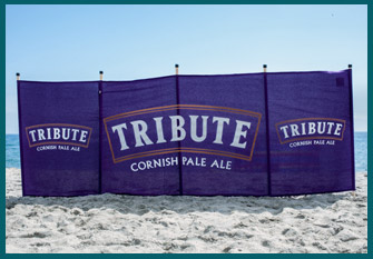 Tribute personalised windbreaks