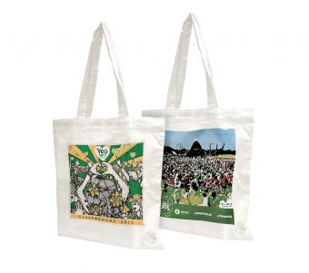 Glastonbury Festival Official Totebags 2015