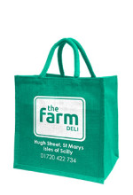 The Farm Deli jute bag