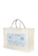 Isles of scilly jute bag