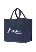Tallyho Holidays jute bag