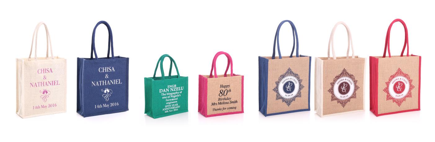 Personalised Gift Jute Bag