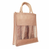 Triple Wine Bottle Carrier Jute Bags