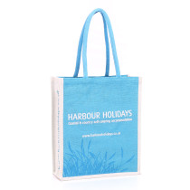 Harbour Holiday Jute Bag