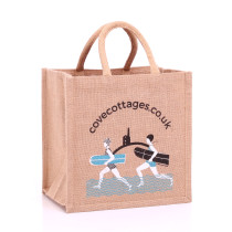 Cove Cottages Jute Bags