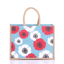 Medium Poppy Jute Bags