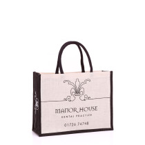 Manor House Dental Jute Bag