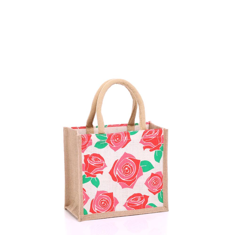Small Rose Jute Bag Gjrose S Gojute International Ltd