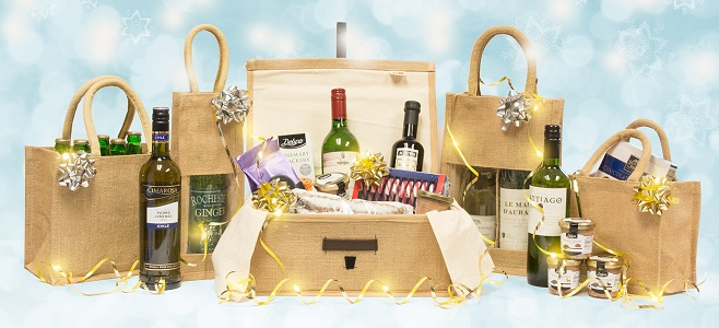 Christmas Hamper Bags