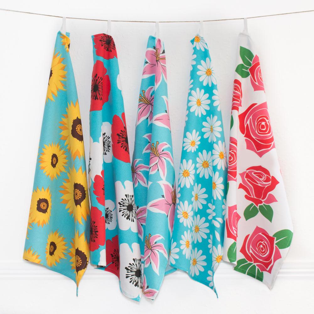 Printed Cotton Tea-Towels