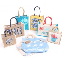 Rick Stein Padstow Jute and cotton bag