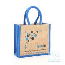 Graham Gardner Orthdontics branded jute bags