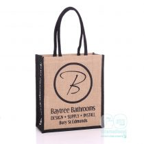 Baytree Bathrooms brand presence Jute Bags