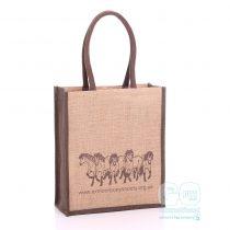 Exmoor Pony Society functional jute bags