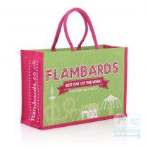 Flambards Jute bags