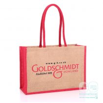 Goldschmidt & Howland branded Jute Bags