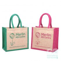 Merlin MS Center Fundraising Jute bag