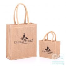 Cheeseworks gift jute bag