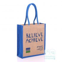 Believe Acheive Annual Conference jute bags