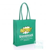 Stephensons exhibition jute bag
