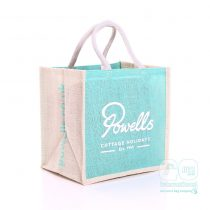 Powells complimentary Holiday Jute Bag