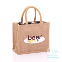 Beer Biere British Beer Jute Bag