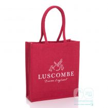 Luscombe drinks Hessian bags