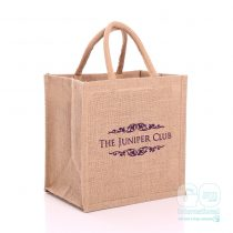 Juniper Club jute bags
