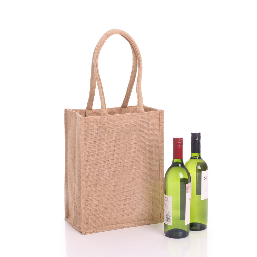 Promotional wine, beer and spirit bottle bags
