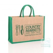 Country Markets jute bags
