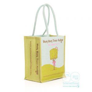 Yum Yum Tree Fudge Juco Jute Bag