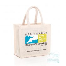Reg Hambly Jute Bag