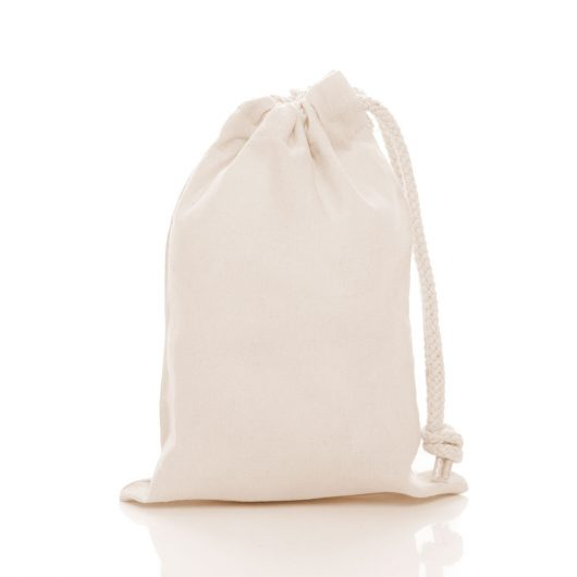 9436db757c46 Extra Small Cotton Drawstring Bags GJ201
