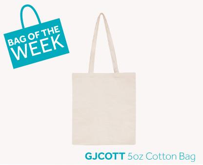 Bag of the Week: 5oz Cotton Bag