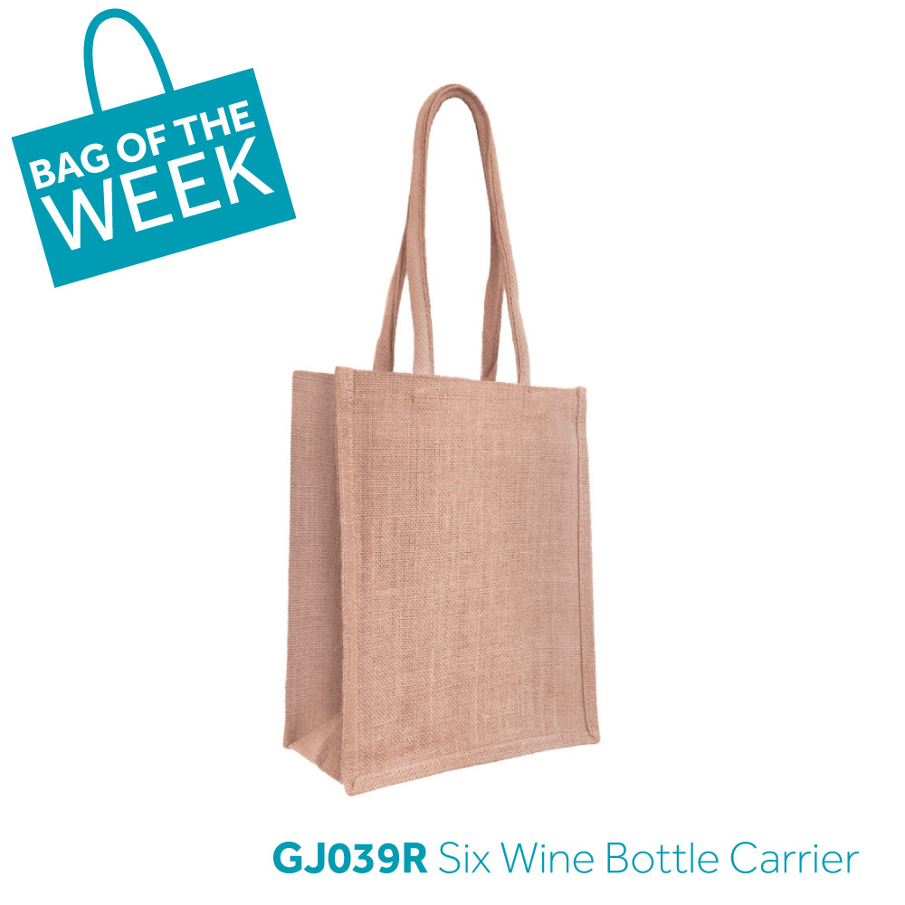 GJ039R Six Bottle Wine Carrier