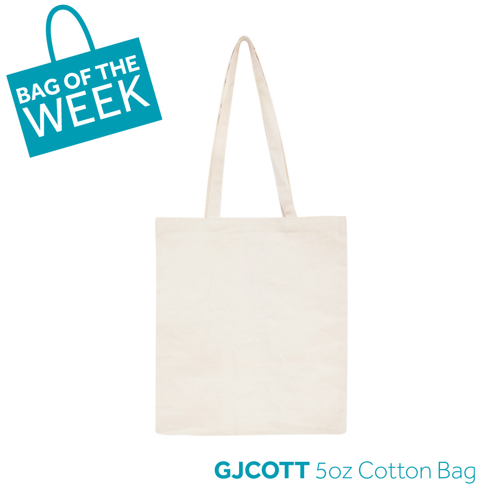 GJCOTT 5oz cotton bag of the week