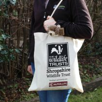 Shropshire Wildlife Trust cotton bag