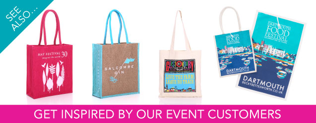 Events Jute Bag Advert