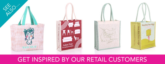 Retail Jute Bags Advert