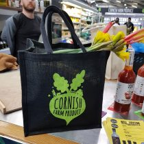 Cornish Farm Produce Branded Jute Bags