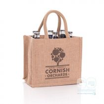 Cornish Orchards Jute Bag