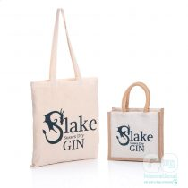 Slake Gin Cotton and Jute bags