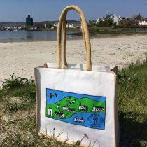 Port Ellen Primary School printed Juco bags